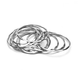 vestopazzo alluminio bracciale donna torchon set 6pz