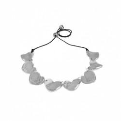 vestopazzo alluminio collana donna 8 cuori grezzi