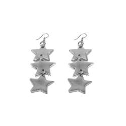 vestopazzo alluminio orecchini donna 3 stelle