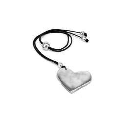 vestopazzo alluminio collana donna corta coeur