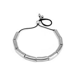 vestopazzo alluminio collana donna cylindres plies court