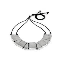 vestopazzo alluminio collana donna carres e triangles bombes