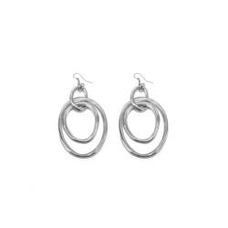 vestopazzo alluminio orecchini donna 3 ovales fins irreguliers