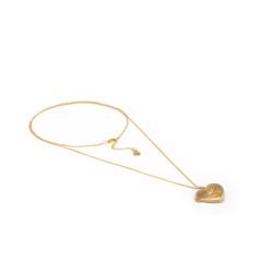 vestopazzo ottone collana donna portafoto cuore
