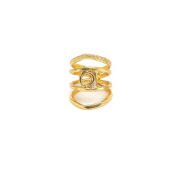 vestopazzo ottone anello regolabile donna egitto