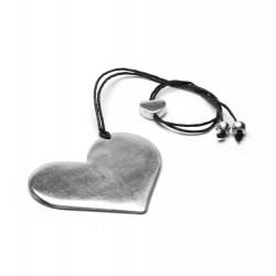 vestopazzo alluminio collana donna cuore