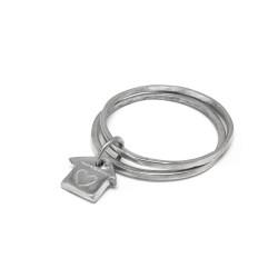 vestopazzo alluminio bracciale donna ronde s/2 maison