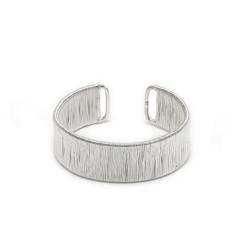 vestopazzo bracciale placcato argento donna fascia filo sottile