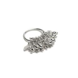 vestopazzo fede mix cuori/sfere pendenti placcato argento donna