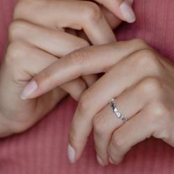 vestopazzo anello stelle multiple placcato argento donna
