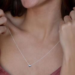 vestopazzo collana cuore singolo placcato argento donna