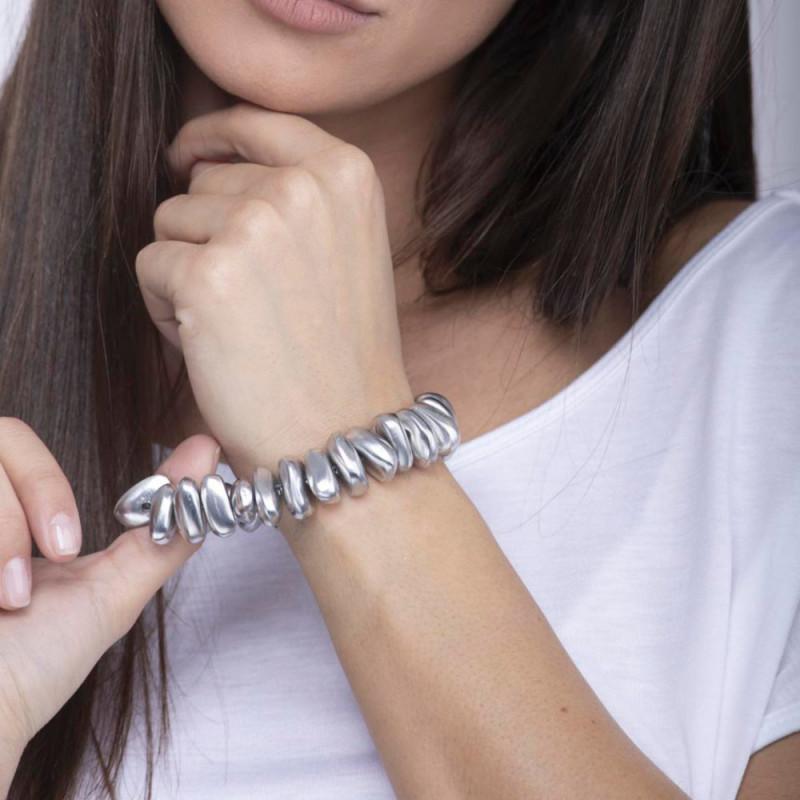 vestopazzo alluminio bracciale elastico AL01103