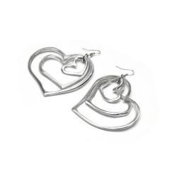 vestopazzo alluminio orecchini donna 3 coeur fine