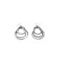 vestopazzo alluminio orecchini donna 3 gocce