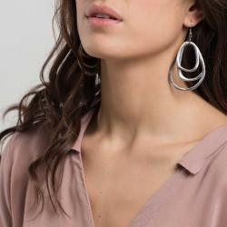 vestopazzo alluminio orecchini donna 3 gocce foto