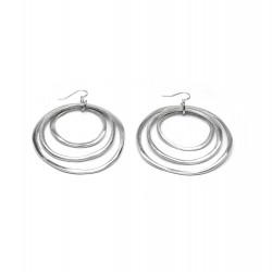 vestopazzo alluminio orecchini donna 3 ronde fine