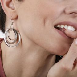 vestopazzo alluminio orecchini donna 3 ronde fine pm foto
