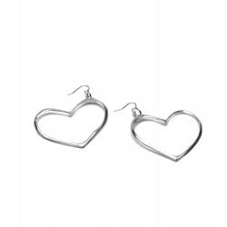 vestopazzo alluminio orecchini donna cuore gm