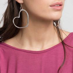 vestopazzo alluminio orecchini donna cuore gm foto