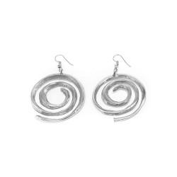 vestopazzo alluminio orecchini donna fil spirale