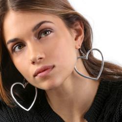 vestopazzo alluminio orecchini donna grand coeur foto