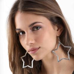 vestopazzo alluminio orecchini donna grand etoile foto