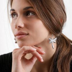 vestopazzo alluminio orecchini donna libellule foto