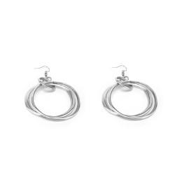 vestopazzo alluminio orecchini donna petit ronde e 3 ronde uni