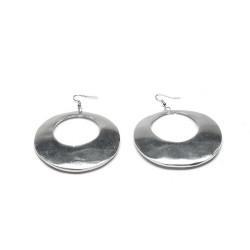 vestopazzo alluminio orecchini donna tondo