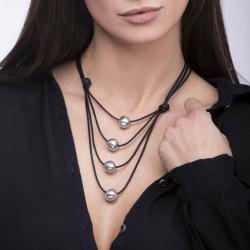 vestopazzo alluminio collana donna 4 boule foto