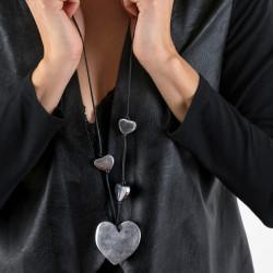 vestopazzo alluminio collana donna 4 coeur foto