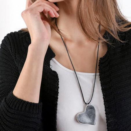 vestopazzo alluminio collana donna corta coeur foto