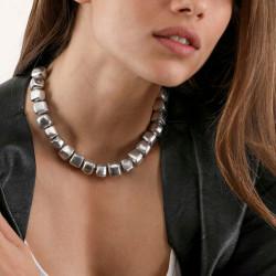 vestopazzo alluminio collana donna cube bombee court foto