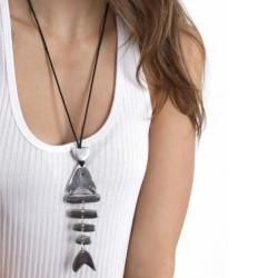 vestopazzo alluminio collana donna poisson 6 pcs foto