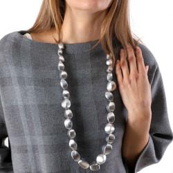 vestopazzo alluminio collana donna standard semi foto