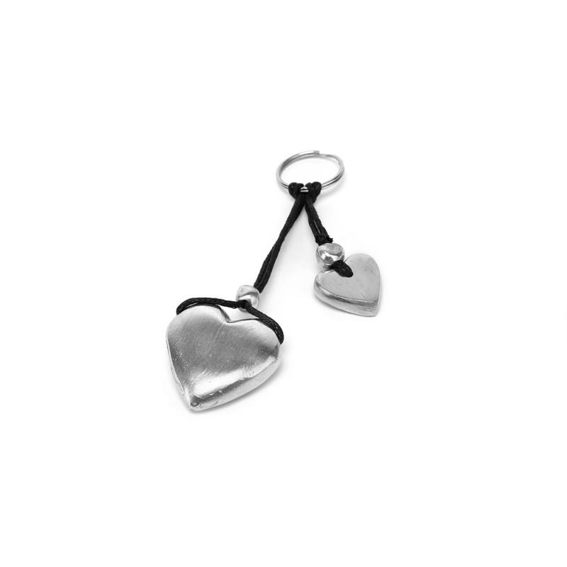 vestopazzo alluminio portachiavi 2 coeur