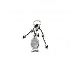 vestopazzo alluminio portachiavi poisson