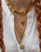 Collezione in ottone di orecchini, bracciali e anelli | EthereaStore